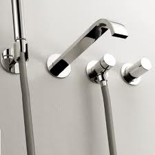 arch wall mounted bathroom faucets