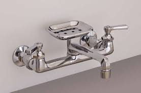 simple wall mounted kitchen faucets