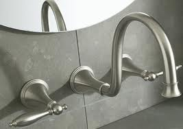 traditional wall mounted faucets